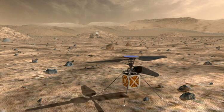 Tout savoir sur le mini-hélicoptère que la Nasa va envoyer sur Mars en 2020