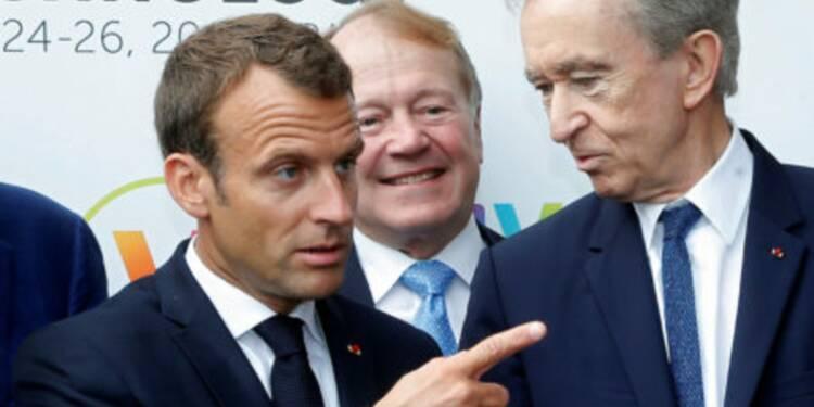 Macron a distribué ses bons points aux acteurs de la French Tech, voici qui a été salué