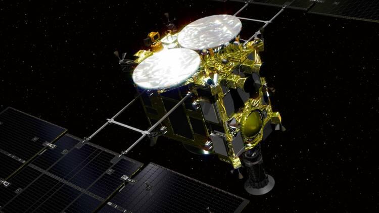 Ce vendredi, la sonde japonaise Hayabusa-2 va tirer sur un astéroïde ! Voici les raisons de cette manœuvre à haut risque.