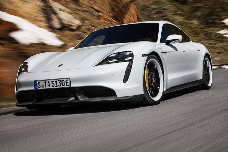 Les prix de la Porsche Taycan dévoilés