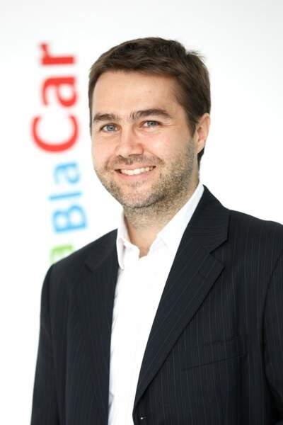 Frédéric Mazzella, 37 ans, PDG de blablacar.fr : le numéro 1 européen du covoiturage