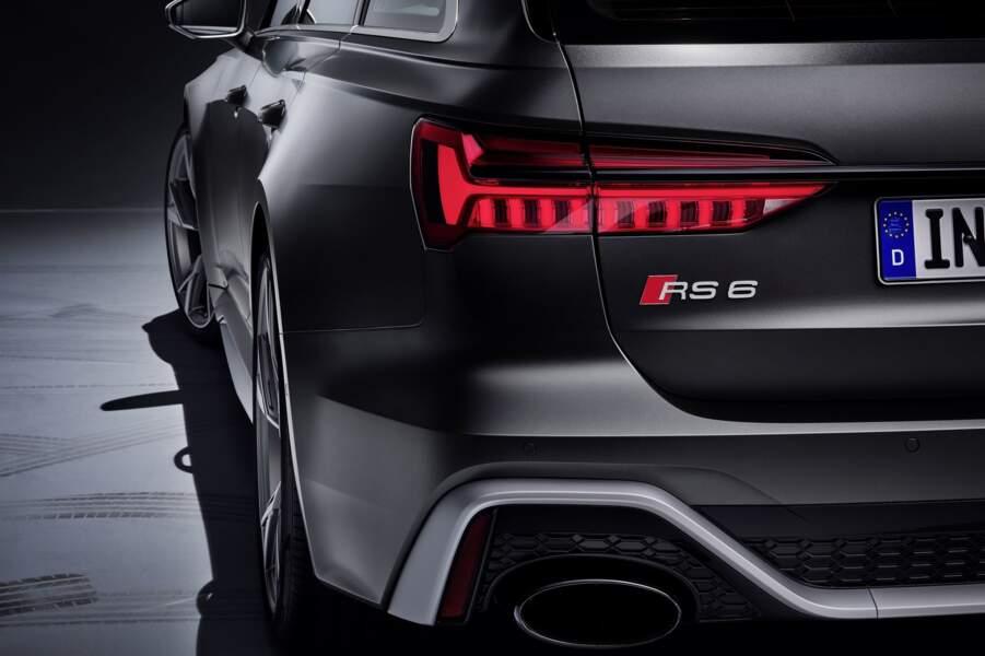 Une RS6 Avant à hybridation légère