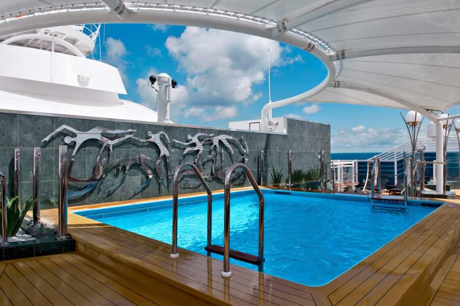 5 piscines de 1.700 mètres carrés