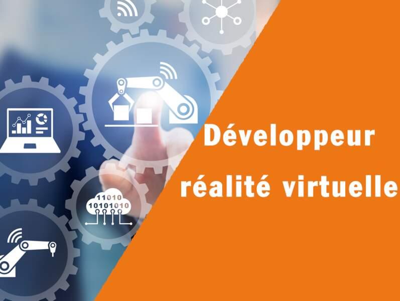 Développeur réalité virtuelle - Il fait gagner du temps aux opérateurs