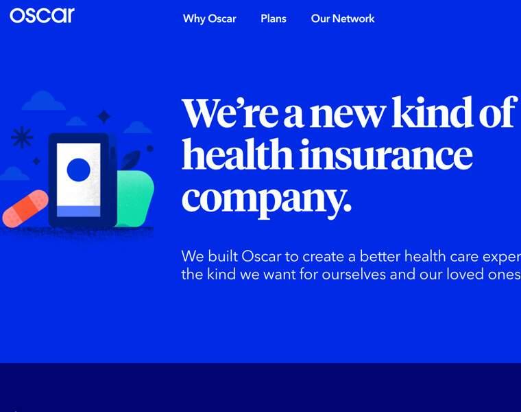 OSCAR: Assurance santé en ligne