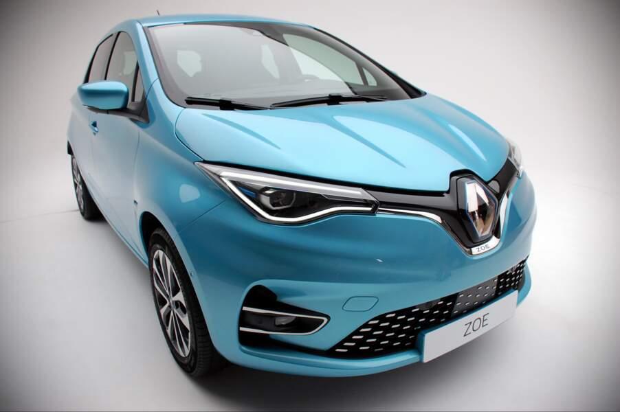 Renault Zoe Bleu Céladon