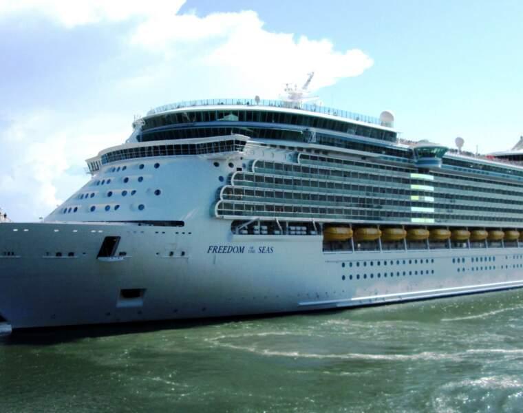 Freedom of the Seas : 338 mètres