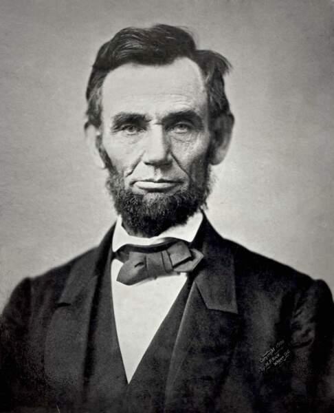 Abraham Lincoln, 16ème président des Etats-Unis