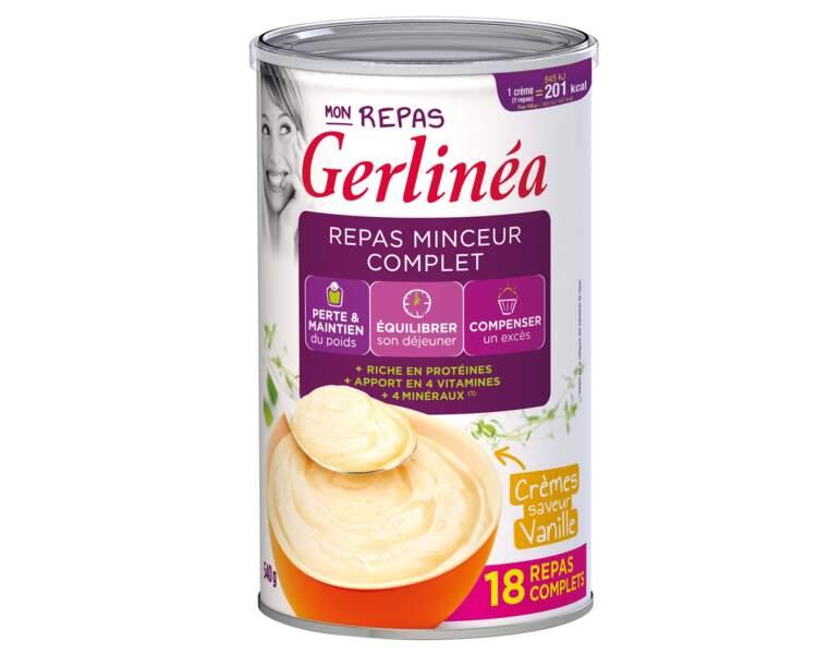 Repas minceur Crèmes saveur vanille Gerlinéa