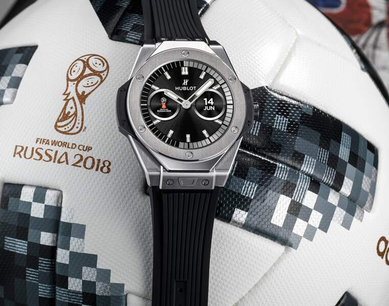 La montre des arbitres : la Hublot Big Bang Referee