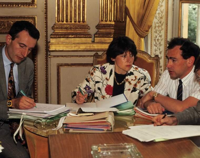 Négociateur auprès d'Aubry