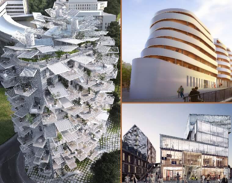 Les grandes villes françaises multiplient les projets étonnants pour attirer les entreprises et les familles.