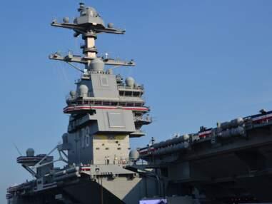 Découvrez en images le plus gros porte-avions du monde
