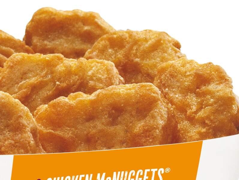 Boîte de 6 Chicken : 44 centimes pour 6 bouts de poulet