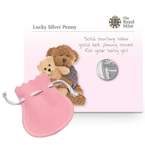 Un penny en argent pour les bébés nés le même jour