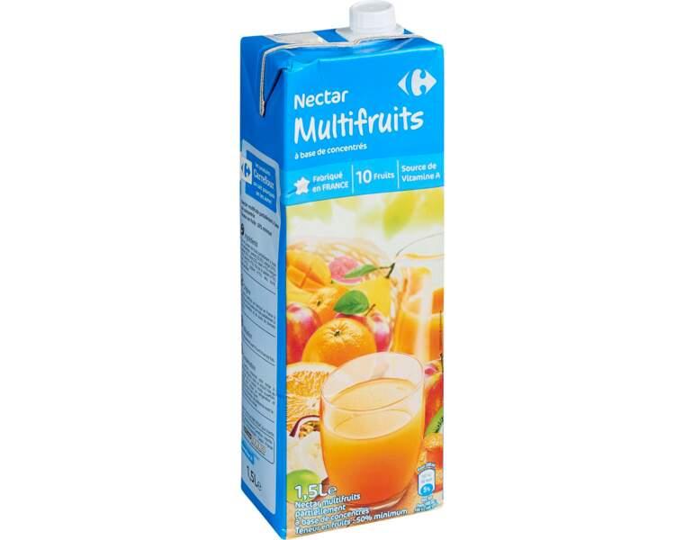 4 - CARREFOUR Nectar multifruits