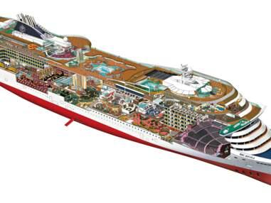 Les coulisses du navire de croisière MSC Divina