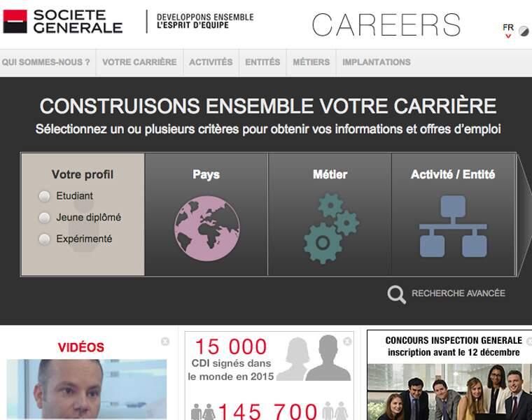 Société générale (banque): 2.000 recrutements
