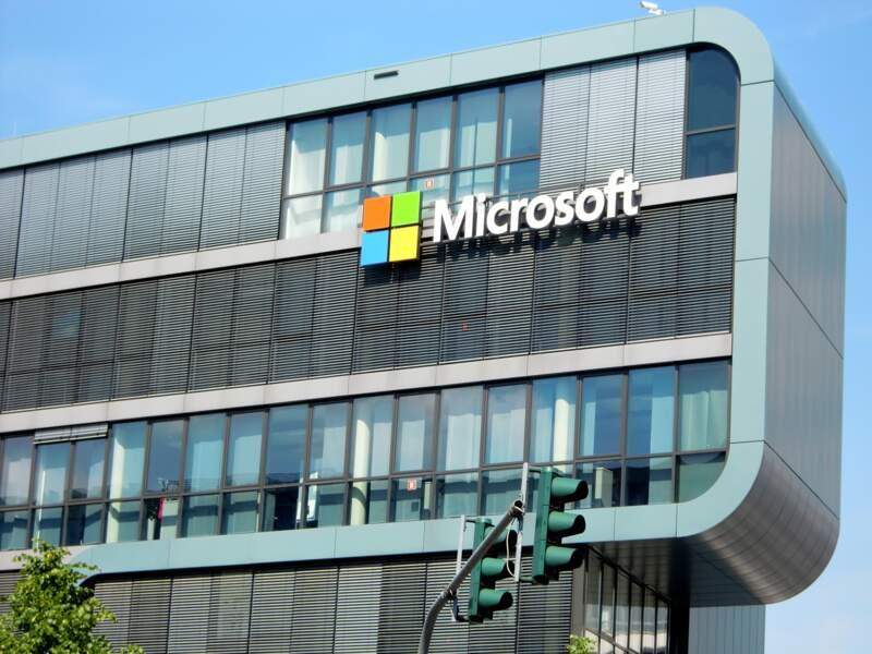 N°5 : Microsoft