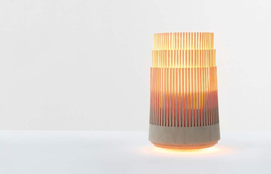 Aerobie : une lampe qui mesure la qualité de l'air intérieur