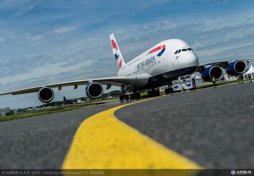 Le nouvel A380 aux couleurs de British Airways