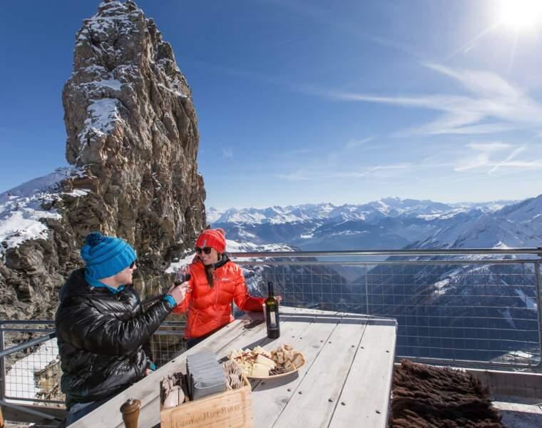 Gstaad : après l'effort, le réconfort