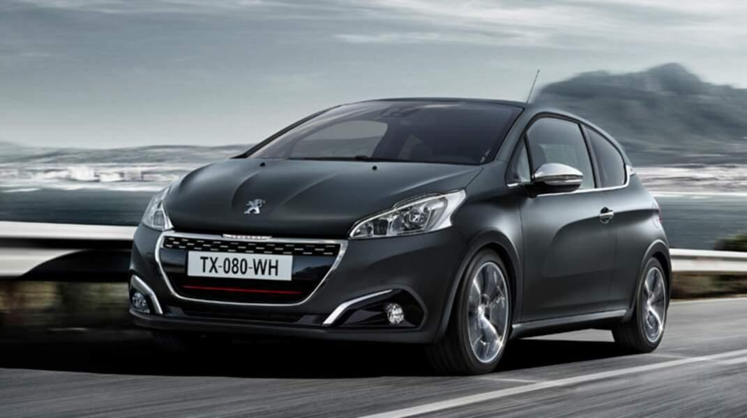 N° 2 : Peugeot 208