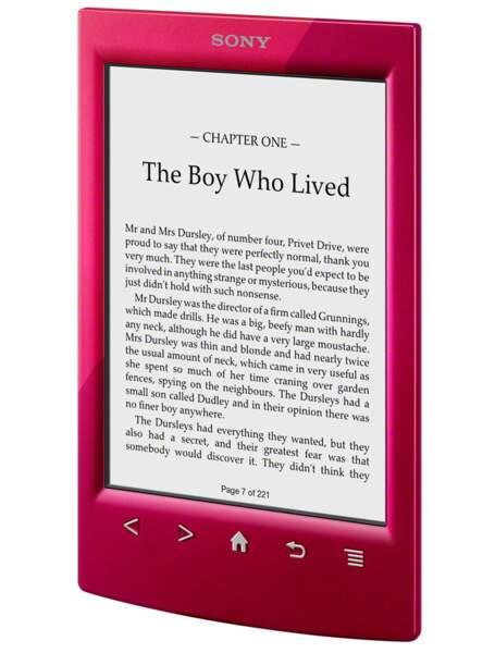 La meilleure liseuse milieu de gamme : Sony Reader PRS-T2