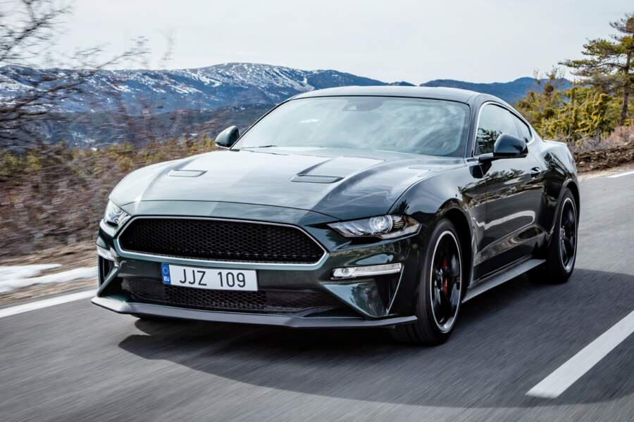 Ford Mustang Bullitt 2018 - Hommage au film éponyme de 1968 avec Steve McQueen
