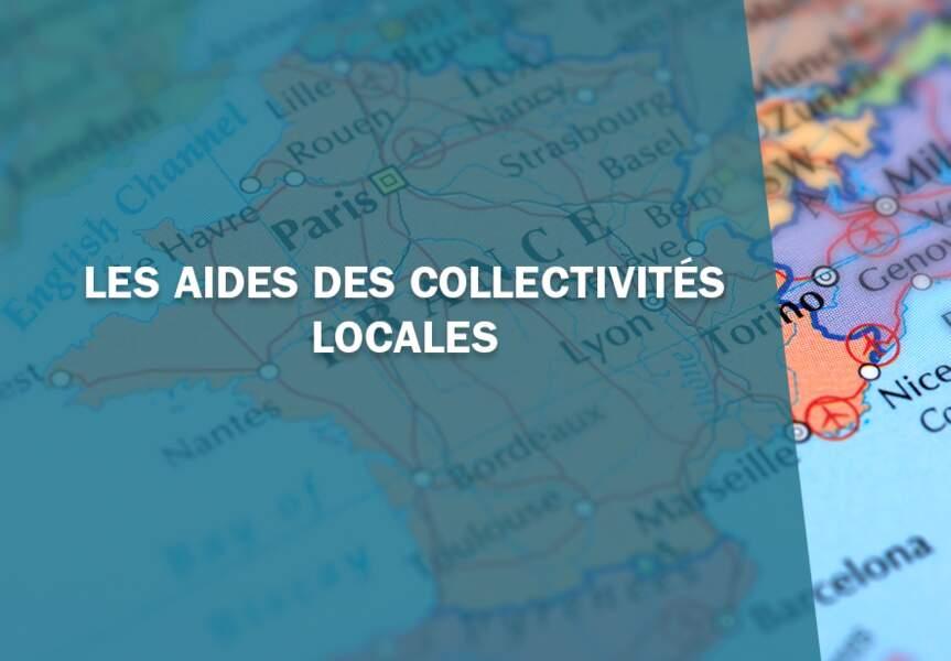 1- Les aides des collectivités locales