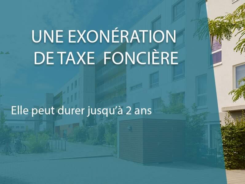 Une exonération de taxe foncière