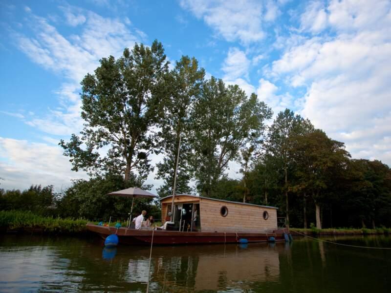 Un village vacances entièrement sur l'eau