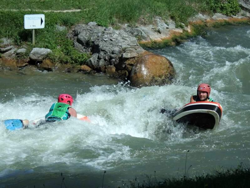 L'hydrospeed : pour nager en eau vraiment vive
