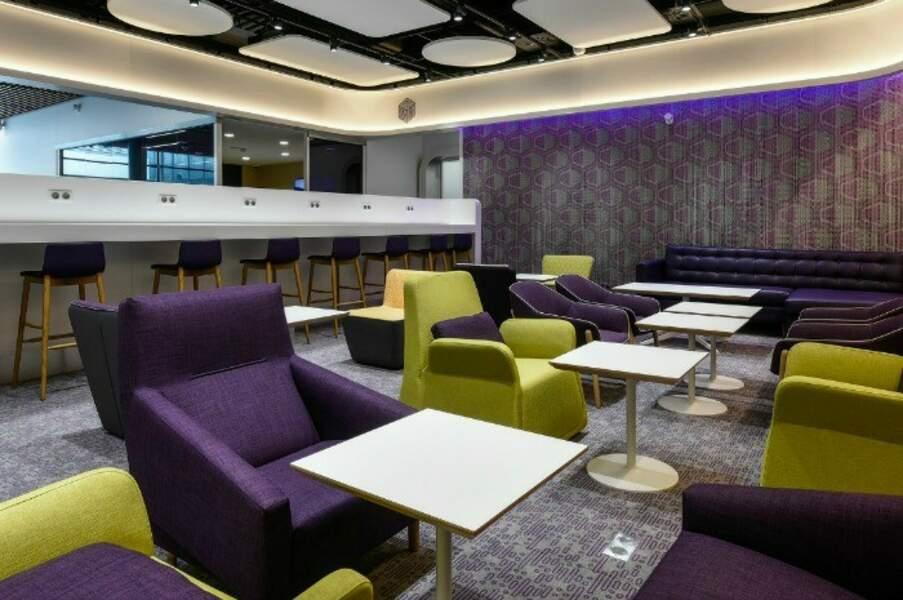 Un club Lounge en attendant l'avion