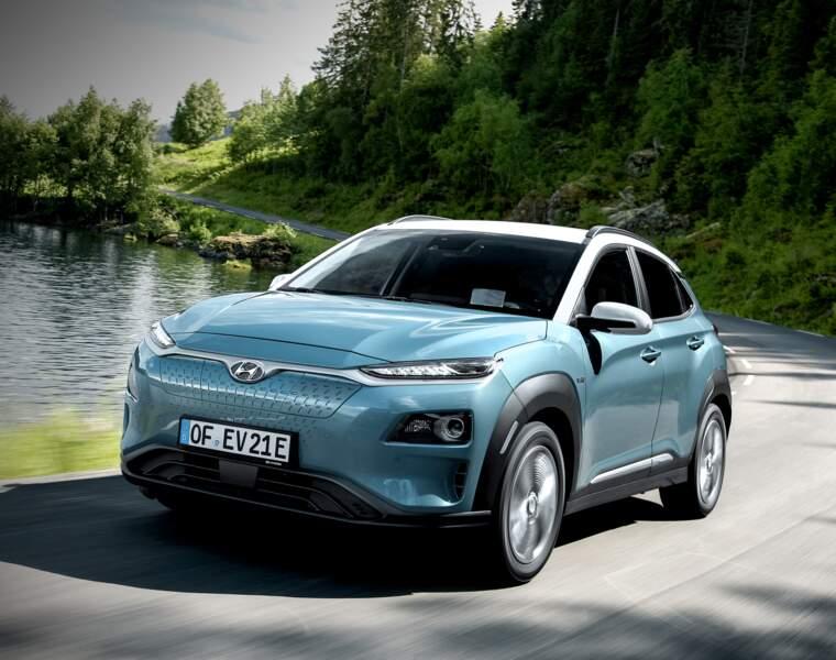 Hyundai Kona Electric : à la vitesse de l'éclair