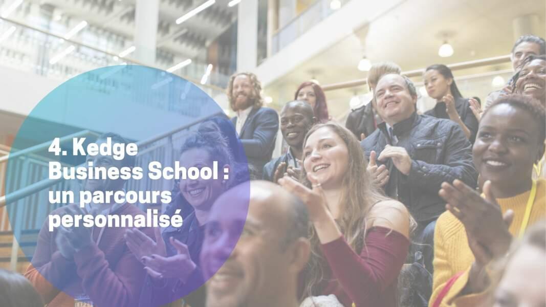 4. Kedge Business School : un parcours personnalisé