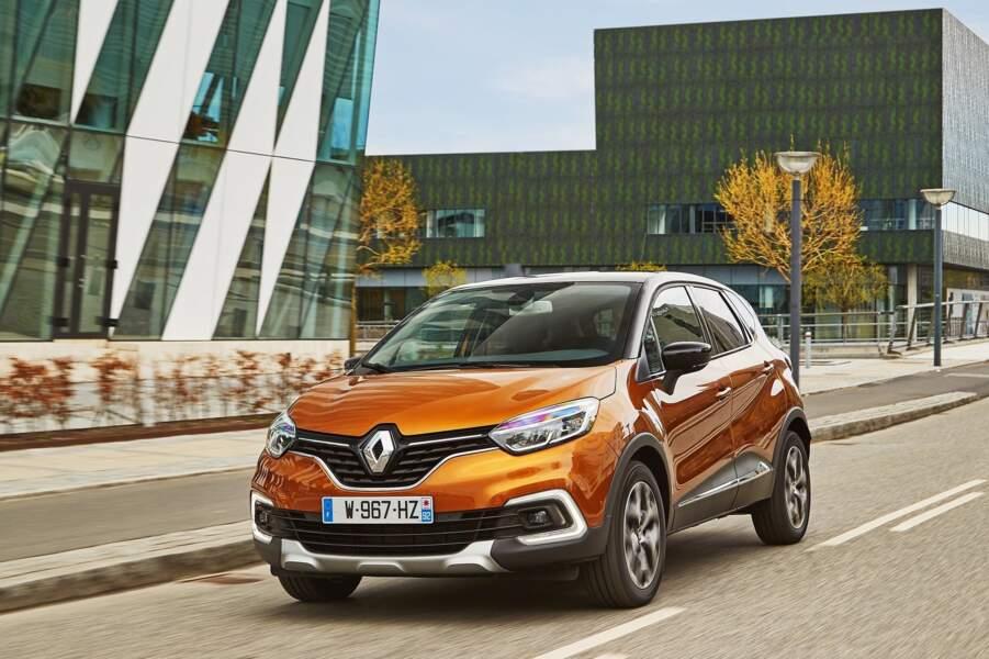 5 - Renault Captur (39.922 ventes)