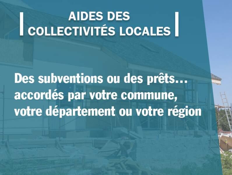 Aides des collectivités locales