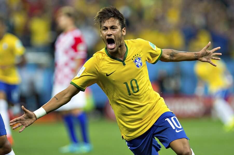 Neymar (Brésil) : 68 millions d'euros