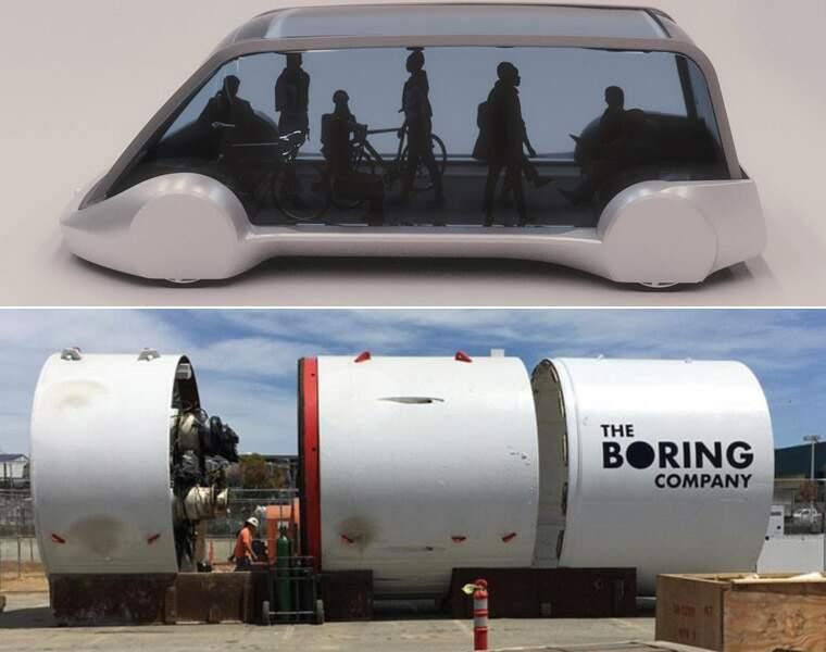 The Boring Company : des tunnels pour désengorger le trafic en ville