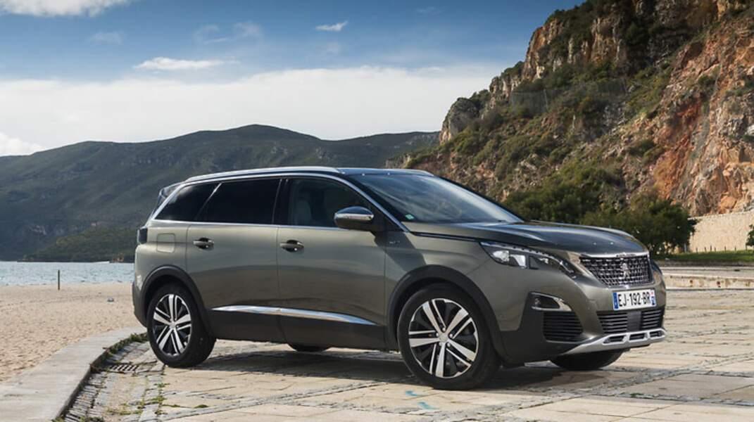 N° 15 : Peugeot 5008