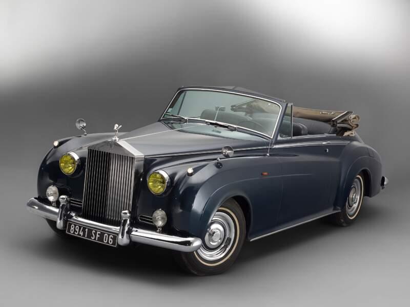 Rolls-Royce Silver Cloud cabriolet Mulliner de Brigitte Bardot et Charles Aznavour