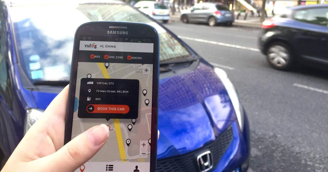 Avec Vulog, l'autopartage en ville est plus simple pour l'automobiliste