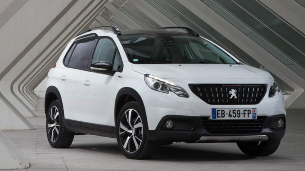 N° 7 : Peugeot 2008