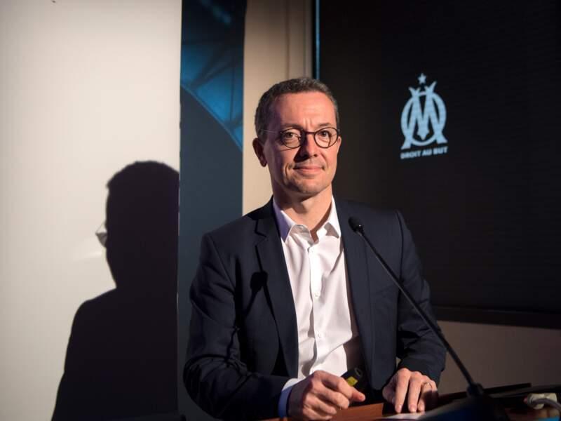 N° 6 - Jacques-Henri Eyraud (Olympique de Marseille)