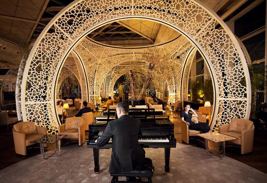 Le lounge Turkish Airlines, un parc d'attractions haut de gamme