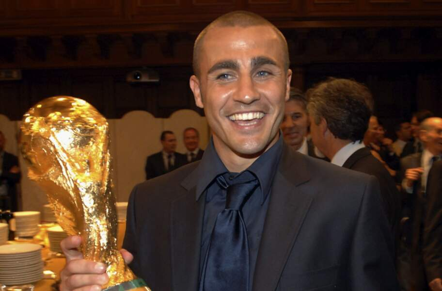 Fabio Cannavaro, le Ballon d'or et champion du monde 2006