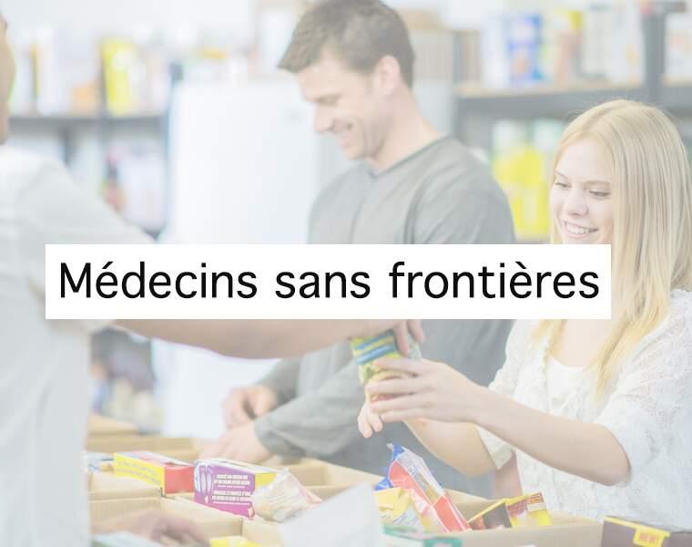 5ème : Médecins sans frontières