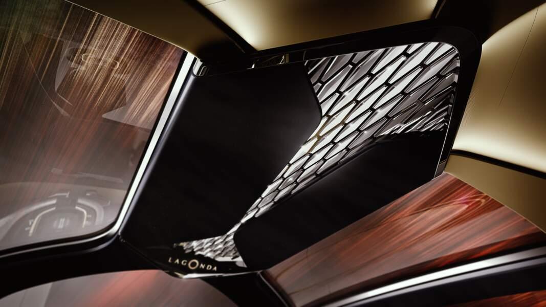 Aston Martin Lagonda Vision -  Lumière intérieure variable