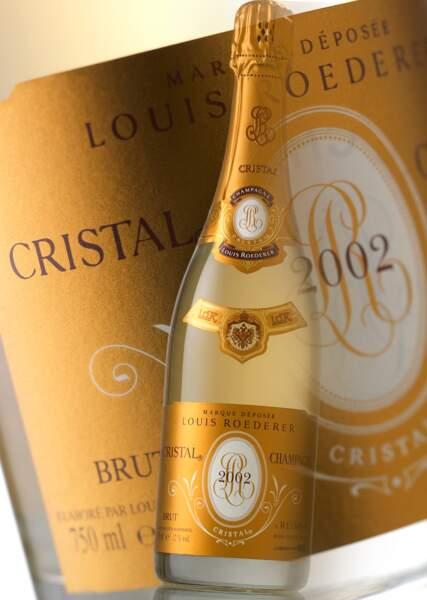 Roederer Cristal 2002 : ce grand champagne est sublime sur des huîtres